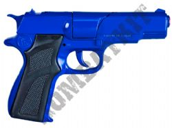 R125 Die-Cast Metal 8 Shot Toy Cap Gun with sound Police Blue